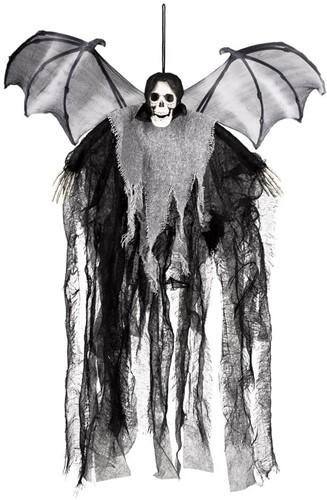 Skull Bat Reaper Halloween Hangdeco (60cm hoog)