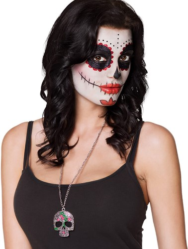 Metalen Ketting Catrina Day of the Dead