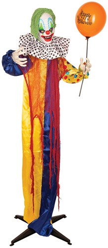 Decoratie Halloween Clown Ballon met Bewegingssensor (165cm)