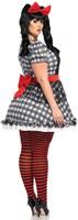 Darling Baby Doll Damesjurkje (Plus Size)-2