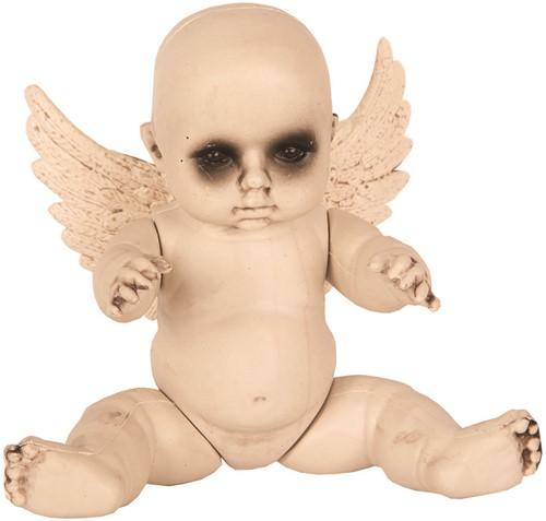 Baby met Vleugels Halloween Decoratie (28cm)