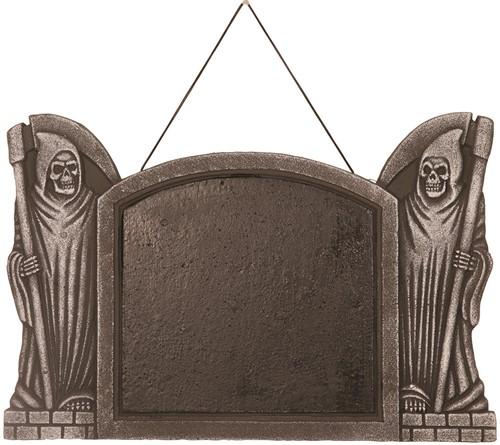 Decoratie Krijtbord Halloween  (55x37cm)