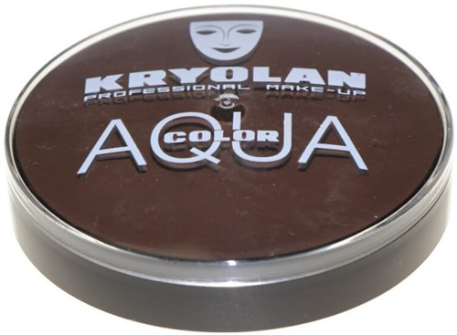 Kryolan Aquacolor 20ml Zwartbruin 102