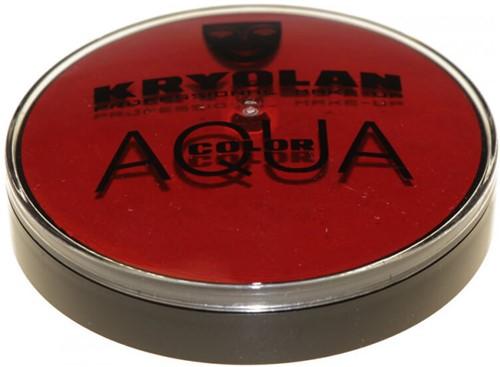 Kryolan Aquacolor 20 ml Donkerrood 081