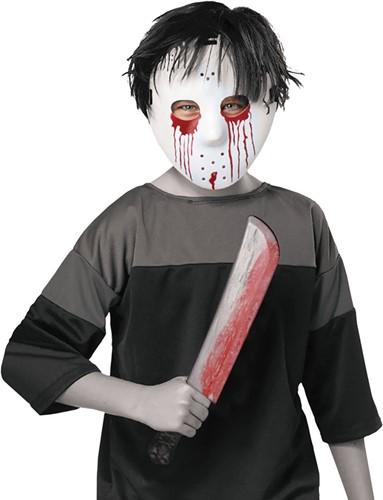 Halloween Mes en Masker Jason (Friday the 13th)