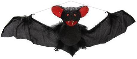 Deco Hangende Vleermuis (39cm)