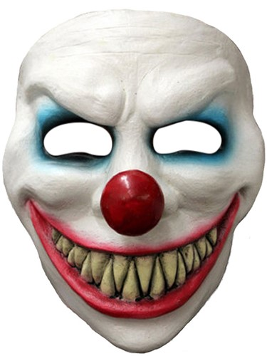 Gezichtsmasker Evil Laugh Clown Latex