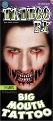 Big Mouth Tattoo Demon