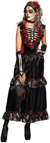 Day of the Dead Halloween jurk La Muerte