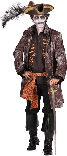 Halloween Heren Kostuum Ghost Pirate