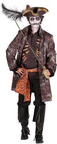 Halloween Heren Kostuum Ghost Pirate-2