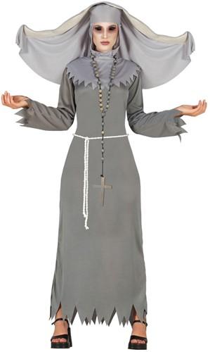 Dameskostuum Duivelse Non Grijs