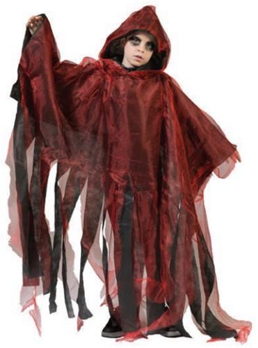 Halloween Cape Rood voor kinderen