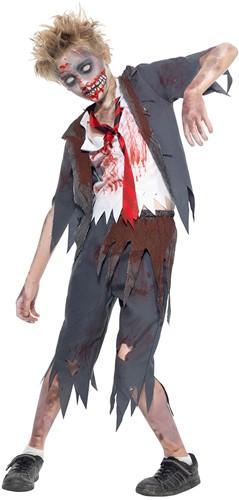 Halloweenkostuum Zombie Schooljongen Uniform