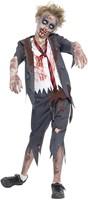 Halloweenkostuum Zombie Schooljongen -2