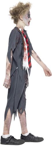 Halloweenkostuum Zombie Schooljongen -3