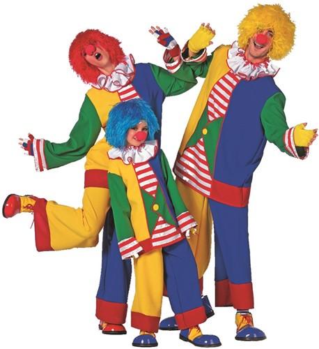 Dameskostuum Clown Multi  -2