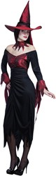 Heksenjurk Wicked Witch voor dames