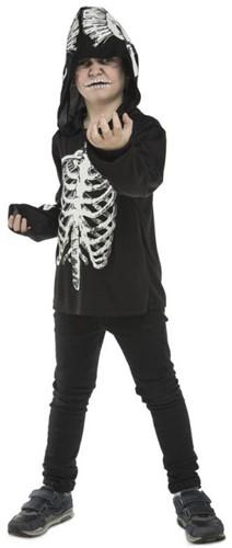 Kinder Hoodie Skeleton Geraamte