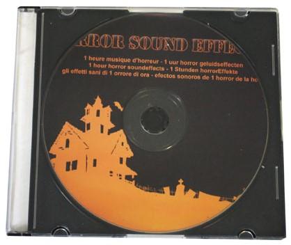 CD met Horror Geluiden