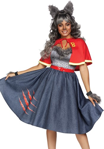 Teen Wolf Halloween Dameskostuum