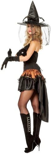 Dameskostuum Sexy Zorro/Heks -2