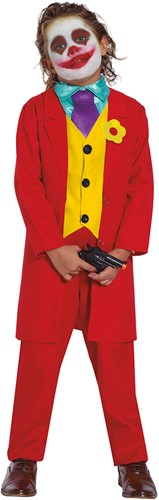 Kinderkostuum The Joker Rood