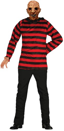 Herenshirt Freddie Krueger (A Nightmare on Elm Street)