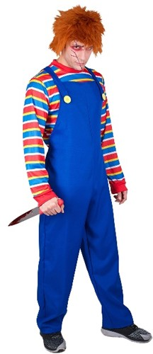Kostuum Chucky - Evil Puppet (2dlg)