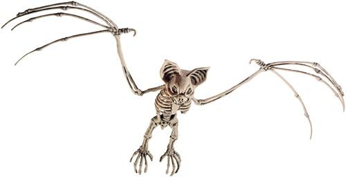 Hangdecoratie Halloween Skelet Vleermuis (72x32cm)
