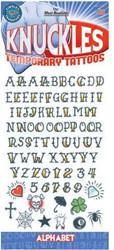 Knokkel Tattoos Alfabet