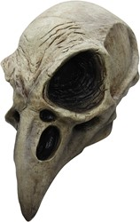 Crow Skull Masker Latex Luxe