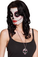 Metalen Ketting Catrina Day of the Dead-2