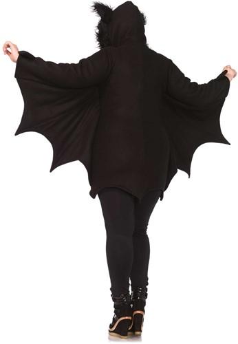 Dameskostuum Cozy Bat (plus size, achterkant)