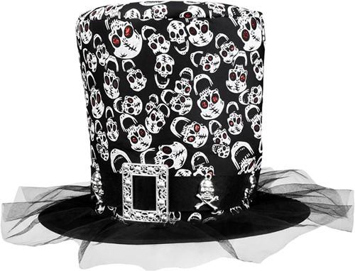 Hoge Hoed Skulls Halloween