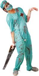 Halloweenkostuum Chirurg Zombie