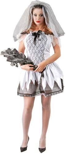 Dameskostuum Bruid Halloween