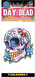 Day of the Dead Calaveras Tatoeage