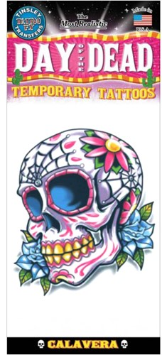 Day of the Dead Calaveras Tatoeage