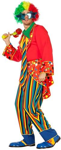 Clownspak Peppo voor heren