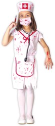 Bloody Nurse Kostuum voor meisjes