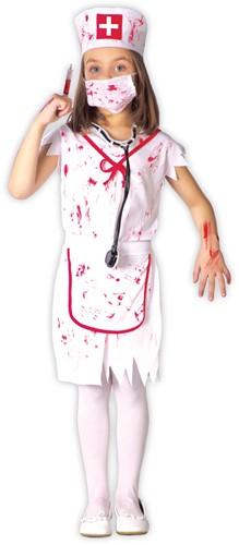 Halloweenkostuum Bloody Nurse voor meisjes