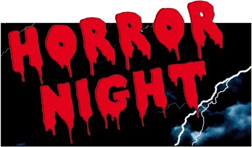 Wanddeco Horror Night 30X55cm