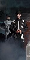 Skeletten Jas Halloween voor heren-3