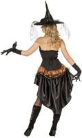Dameskostuum Sexy Zorro/Heks -3