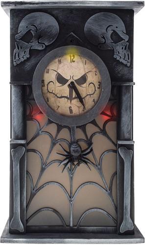 Halloween Klok Decoratie  met Bewegingssensor (33x20cm)