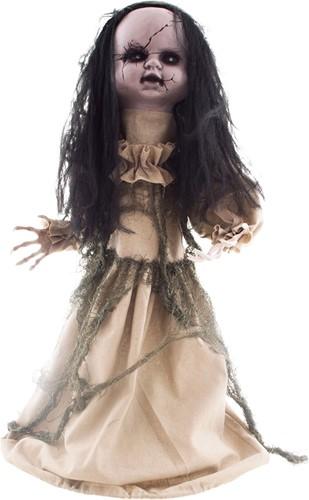 Halloween Decoratie Dansend Meisje (75cm)