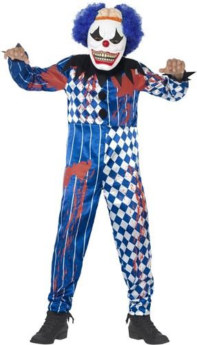 Creapy Clown Kinderkostuum (2dlg)