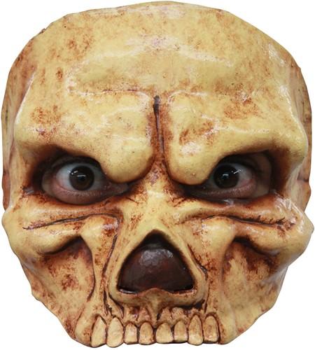 Halfmasker Skull (latex)