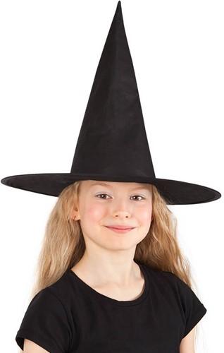 Heksenhoed Nylon voor kinderen